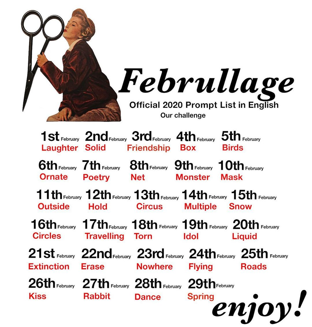 Februllage: February Collage Project