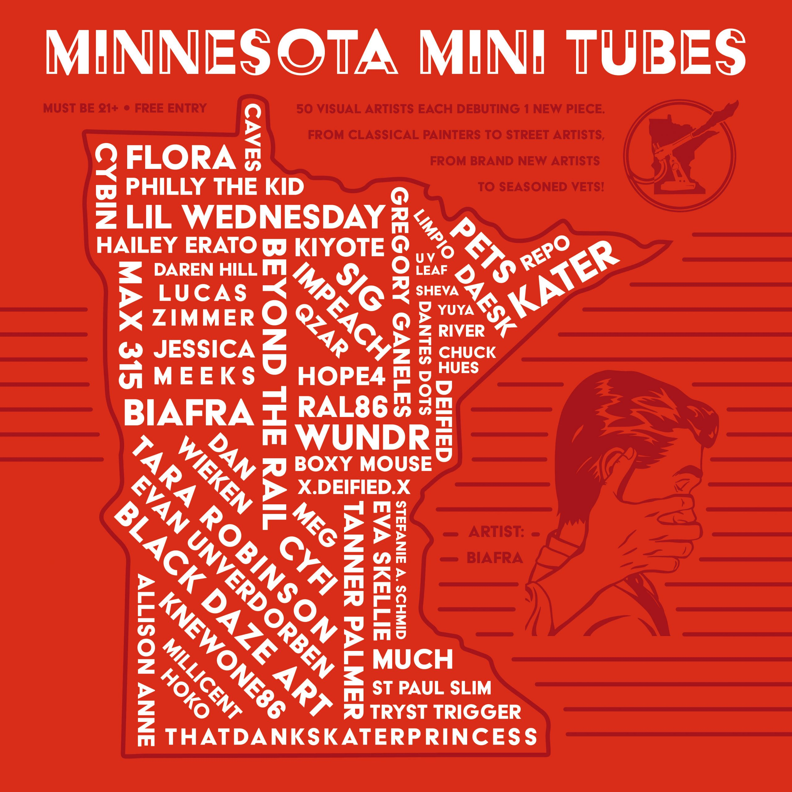 Showing: MN Mini Tubes at Legacy Glassworks