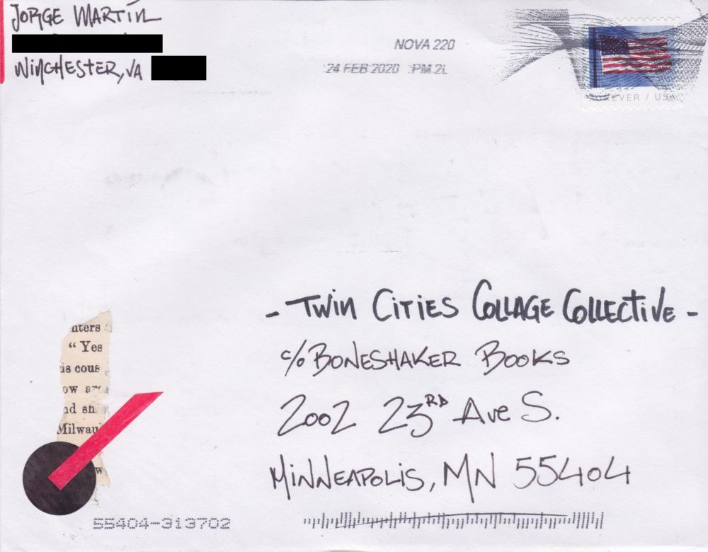 Jorge Martin [Envelope] [Front]