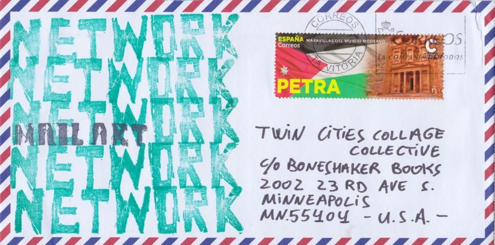 Mikel Untzilla [Envelope] [Front]