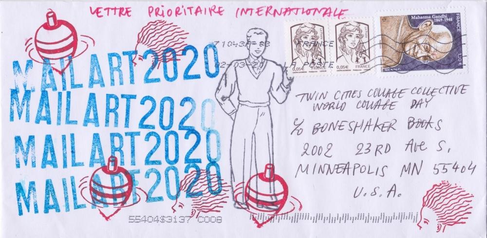 Pascal Lenoir [Envelope] [Front]