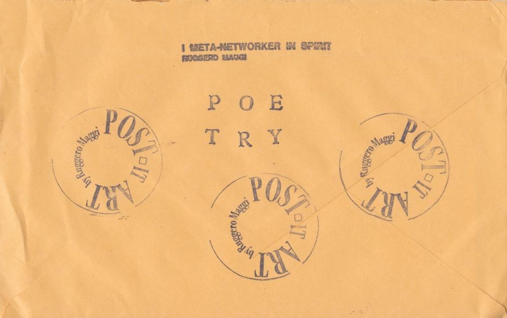 Ruggero Maggi [Envelope] [Back]
